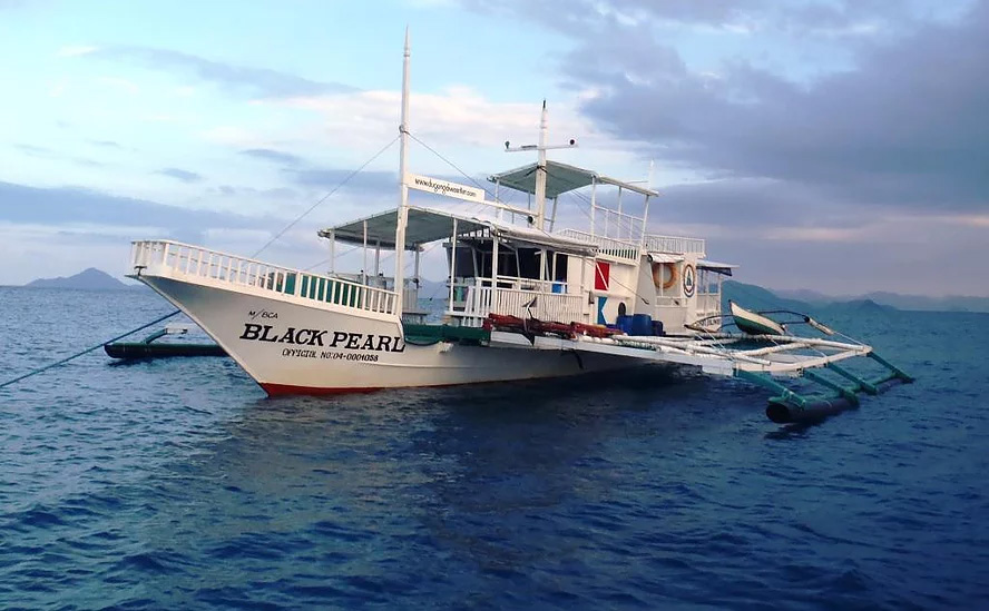 Dugong Dive Center's Black Pearl Boat